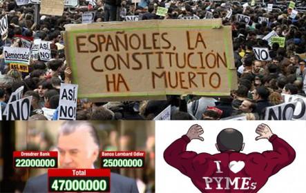 ¿La Constitución ha muerto?. La corrupción, factor de gobierno. Superpyme y el Estado del Bienestar