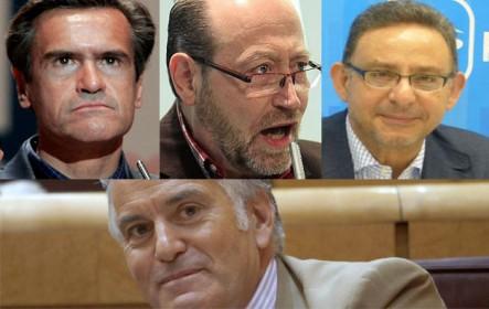 Pacto Rajoy-Bárcenas. Denuncias falsas o violencia doméstica: Aguilar (PSOE), Utrera (PP) y Reneses (IU)