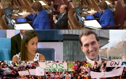 Entrevista a Antonio Maestre y su vídeo a Celia Villalobos. Debate entre Begoña Villacís y Jaime Trabucheli (Ciudadanos). Entrevista a Ana García, del Sindicato de Estudiantes