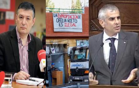Entrevista a Jose María Benito (UFP) sobre el ático de Ignacio González. El derribo de Ofelia Nieto 29. Carlos Carrizosa (C's) sobre el caso Pujol