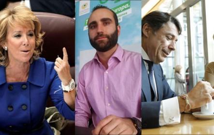 Los emails de Blesa sobre Esperanza Aguirre. Pablo Aldama (Equo) habla sobre Tania Sánchez. La corrupción de Ignacio González y el comisario Villarejo