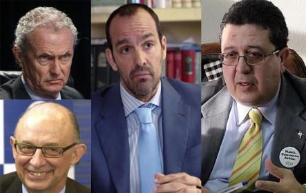 La corrupción de los ministros Morenés y Montoro, Antonio Suárez, abogado de la militar Zaida Cantera, y Francisco Serrano (Vox)