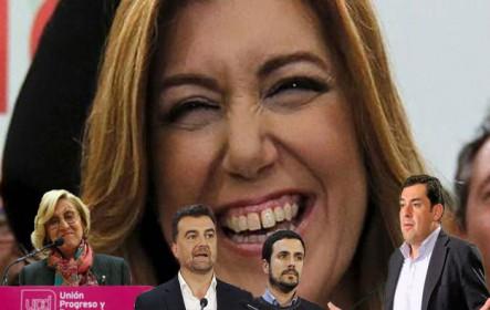 La resaca andaluza: Susana ya no es peligro para Pedro Sánchez, el curriculum falso de Moreno y el batacazo de PP, IU y UPyD