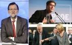 Junta Directiva Nacional del PP: olla a presión pero Rajoy no cambia. Crisis en IU (Cayo Lara) y UPyD (Tony Cantó). López Aguilar (PSOE), suspendido de militancia