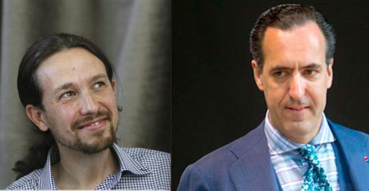 Primarias en Podemos: David Bravo (oficial) y Fernando Cabal (alternativa). El letrado Aizcorbe gana el juicio: Marichalar (Casa Real) consumió cocaína