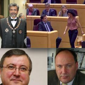 Lesmes, el juez que se vendió al poder. Entrevistas con los magistrados Sexmero (FV), Gallardo (FJI) y con Maribel Mora, la primera senadora de Podemos